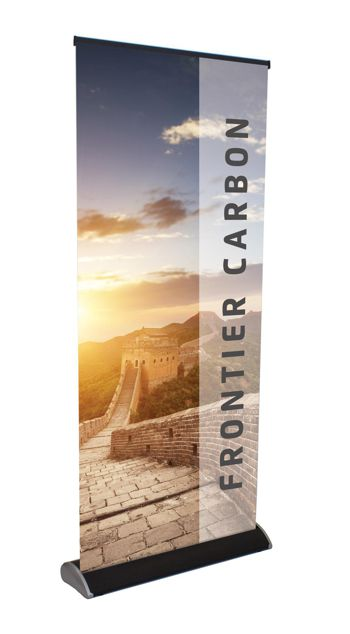The frontier carbon roller banner from Innotech