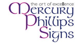 Mercury phillips signs logo