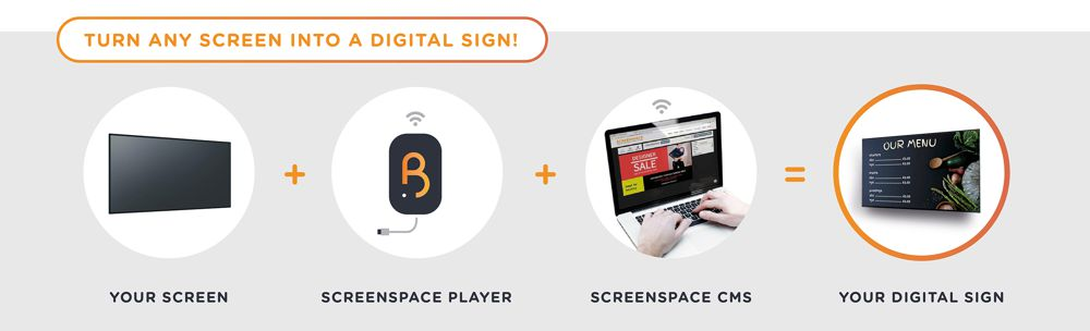 Screenspace - Advertising banner
