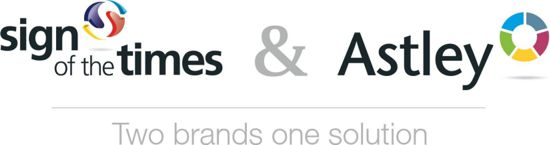 Astley Signs and Sign Of the Times Logo