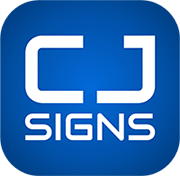 CJ Signs Logo