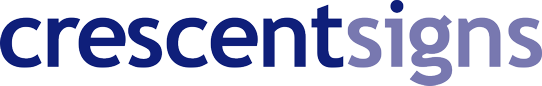 Crescent Signs Logo