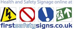 First Safety Signs Logo