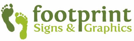 Footprint Signs and Graphics Logo
