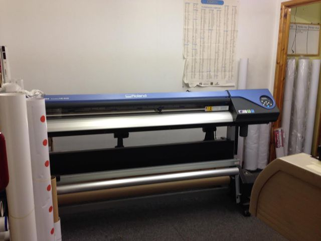 A Roland printer from dgSigns