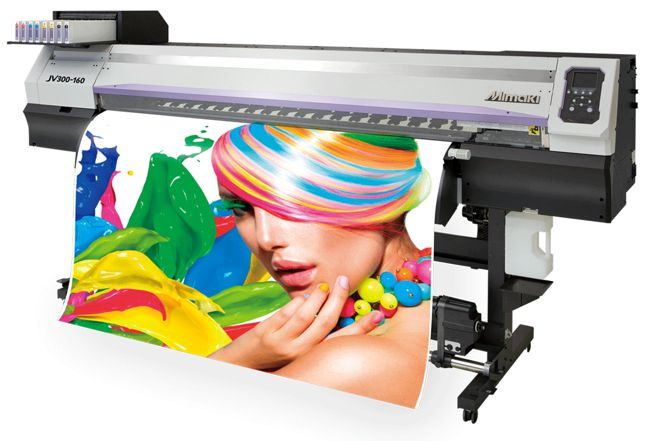 Mimaki JV300 printer.