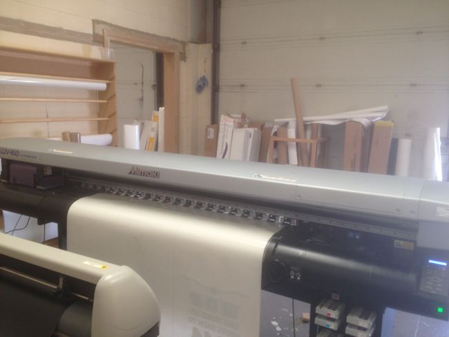 Mimaki UJV 160 Hybrid UV LED Printer