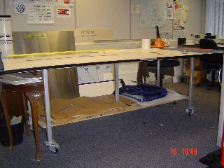 3m long workbench