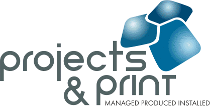 Projects and Print Logo
