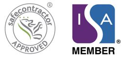 Safe Contractor and ISA Member Logos