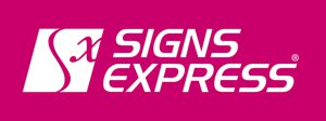 Signs Express Logo in Pink