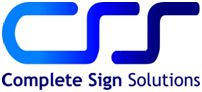 complete sign solutions logo