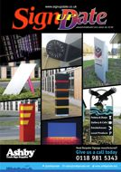 Front cover of Sign Update, issue 182