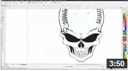 Video on CorelDRAW X6 for beginners Smear, Twirl, Repel and Attract Tools