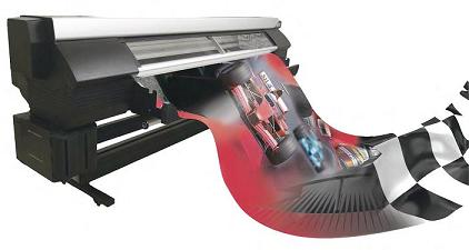 Seiko II ColorPainter printer