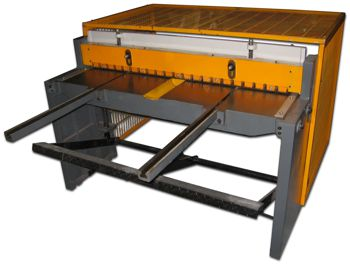 Mantech's Treadle Shear/Guillotine
