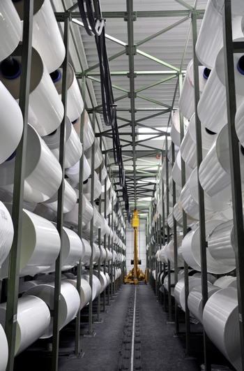 Rolls of Intercoat in Factory