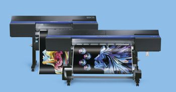 a couple of wide format digital printers
