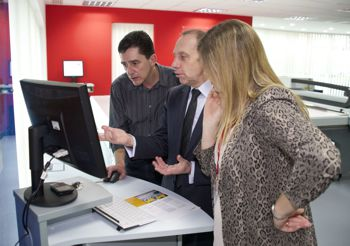 Visitors attend Canon Horizons customer experience day