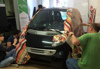 Vehicle Wrapping Courses Regularly Held By Grafityp