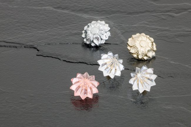 Floral Coverheads - Styrene and Die-cast