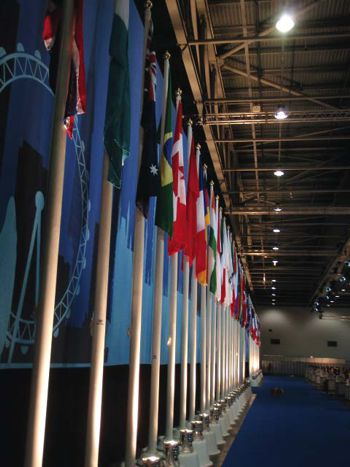 Flags at G20 Conference