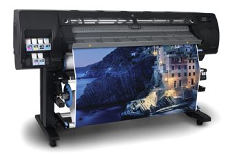 HP Designjet L260 wide format printer