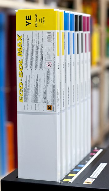 Roland Eco-Sol Max CMYKcartridges