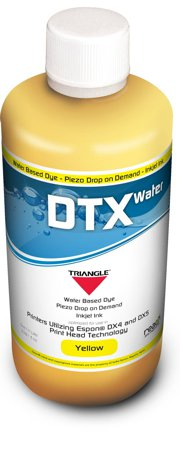 Triangle DTX - Water based Dye Piezo Drop on Demand Inkjet Ink