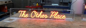The Sign Group neon sign