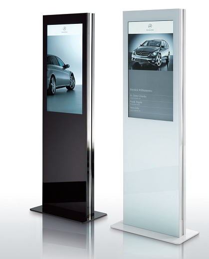 Freestanding high definition digital displays from Sign Systems Ltd.