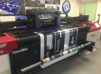 An up close look at the new technology in reflective printing