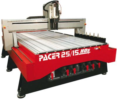 The Pacer HD Series router