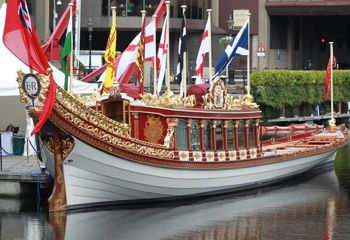 The Gloriana (boat) for The Queen's Jubilee