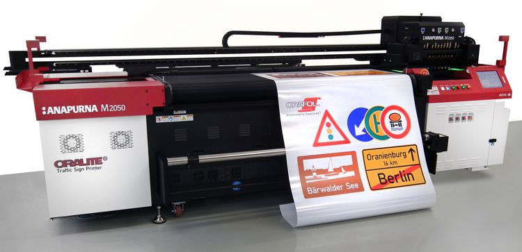 Traffic Sign Printer