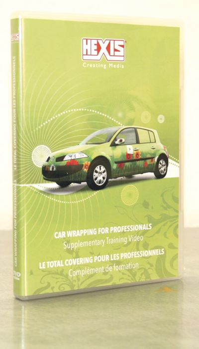Vehicle wrapping DVD from Hexis