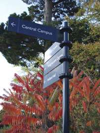 Signage at the University of Exeter by Signsystems.