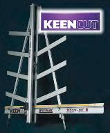 The new Steeltrak by Keencut - Wall mounted cutter.