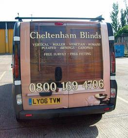 Getting the message across with livery on this van.
