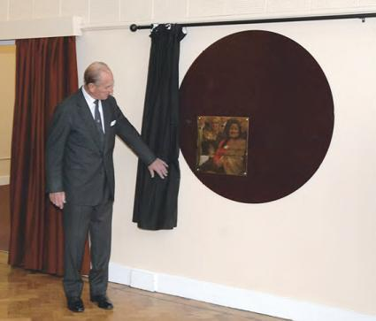 Plaque opening by HRH The Duke of Edinburgh at the RSA Academy