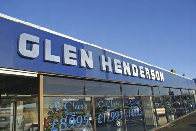 Premises of Glen Henderson Cars