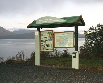 Interpretive signage for heritage sites and nature reserves make up a large proportion of Osprey's work.
