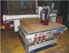 The 4000 series CNC router.