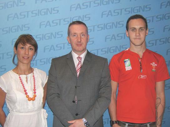 Fastsigns Swansea team.