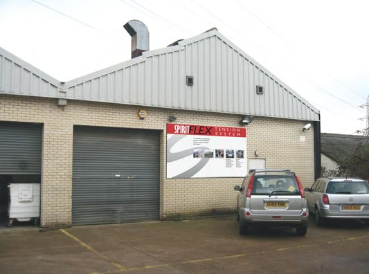 Spirit Displays New premises