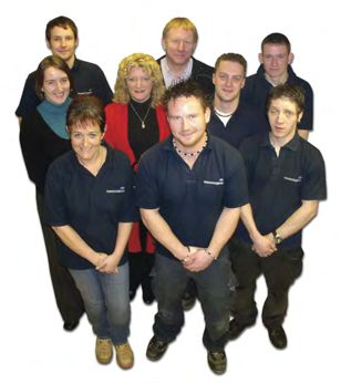 Group photo of the Sussex Sign Company team.