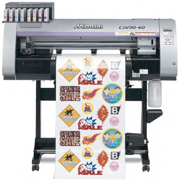 Hybrid Summer Promotion On Mimaki Printer Cutters Makes