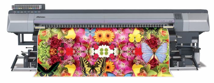 Mimaki's new grand format direct to polyester printer – the JV5-320DS.