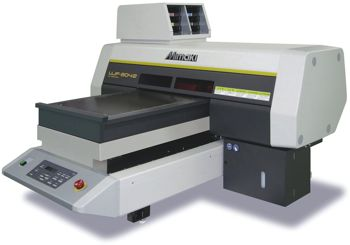 Mimaki's new desktop LED UV curing printer – the UJF-3042