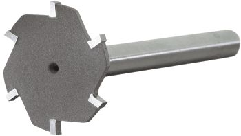 Belin slotting cutters for plastic.